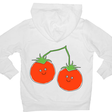 Bugged Out tomato kids hoodie