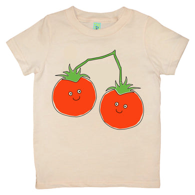 Bugged Out tomato short sleeve kids t-shirt