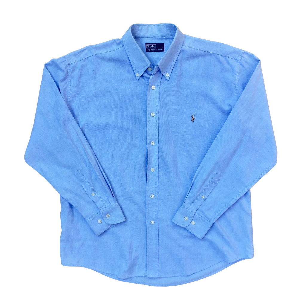 Vintage Ralph Lauren Polo Long Sleeved Shirt - M