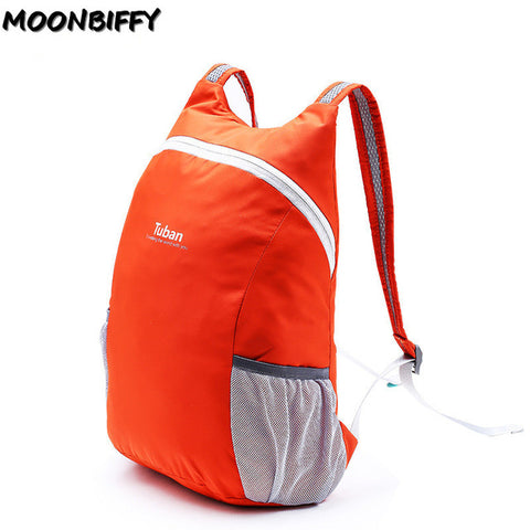 Lightweight Nylon Foldable Backpack Waterproof Folding Bag Ultralight Portable Men Women Travel Pack
