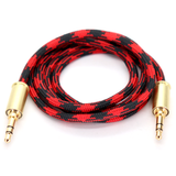 Double Tap Auxiliary Cable - Black Widow