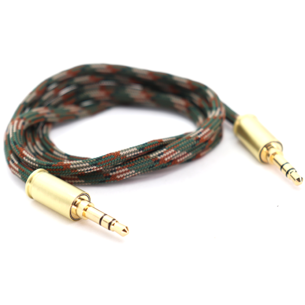 Double Tap Auxiliary Cable - Woodland Camo