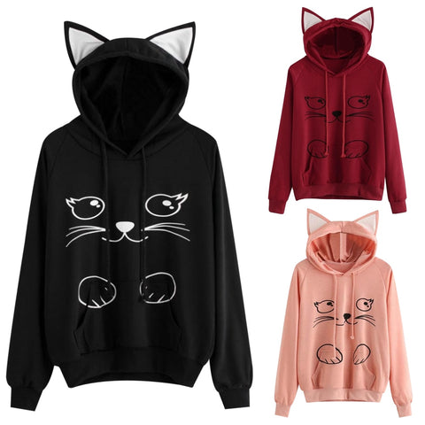 Lovely Cat Sweatshirt