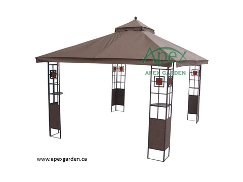Replacement Canopy Top For Yh 6012d 10 X12 Gazebo No