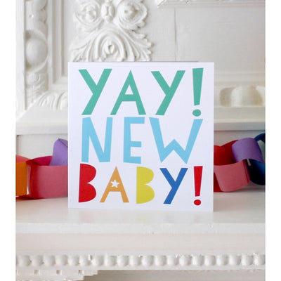 Little Marshans:Yay! New Baby! Card: