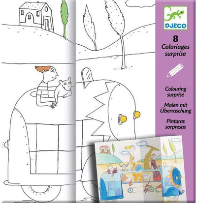Little Marshans:Hide And Seek Colouring Surprises: