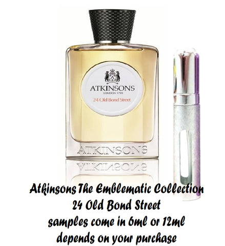Atkinsons 24 Old Bond Street Samples