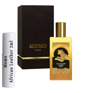Memo African Leather samples 2ml