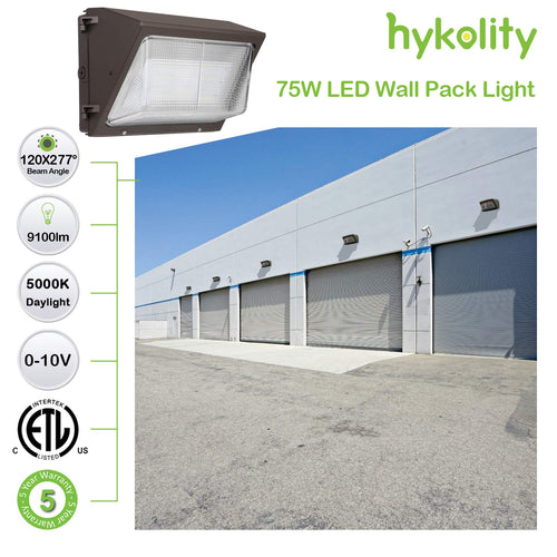 8 ft. 75W Linkable LED Linear Light Fixture, 9825 lm 5000K