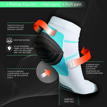 Anti-Fatique Compression Socks for the Relief of Plantar Fasciitis Symptoms