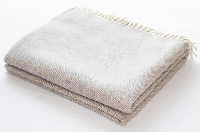 Cashmere Collection Throw in Linen