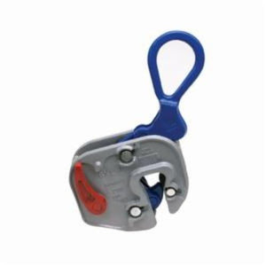 Campbell 6422012 Plate Clamp, 1/2 ton Load, 1/16 - 5/8 in Jaw, 5-15/16 in W, Forged Steel, Load Activated