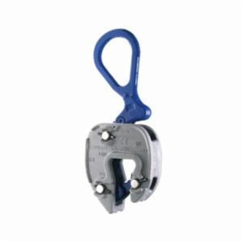 Campbell 6423920 Plate Clamp, 1/2 ton Load, 5/8 - 1-1/8 in Jaw, 5 in W, Forged Steel, Load Activated