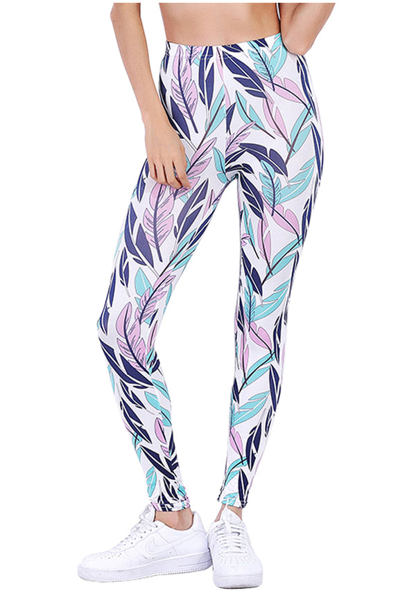 Ayliss Women Fashion Printed Yoga Workout Leggings