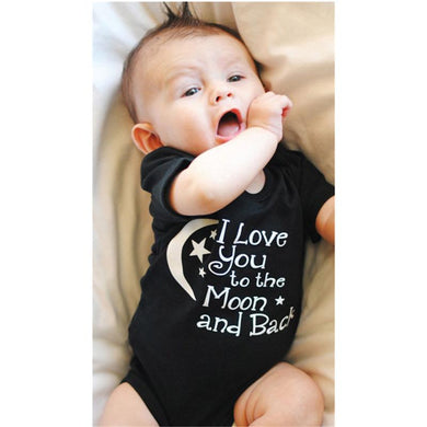 I Love You to the Moon & Back Onesie