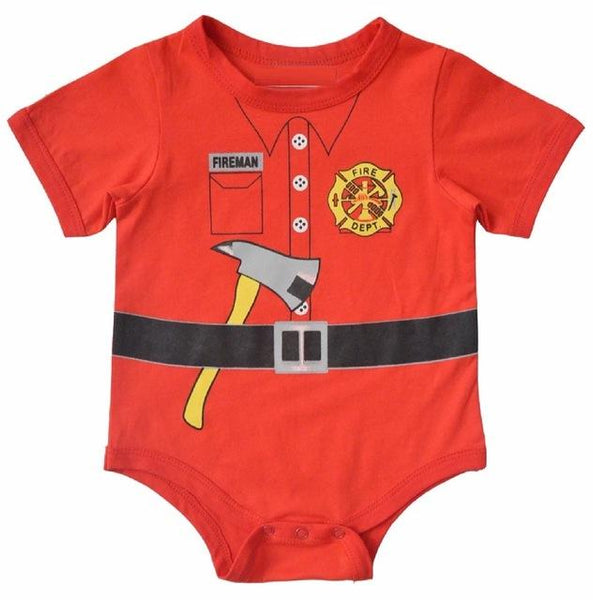 Fireman onesie || Little firefighter