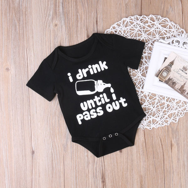 Drink & Pass Out Onesie