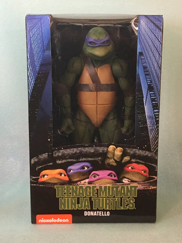 NECA - Teenage Mutant Ninja Turtles (1990 Movie) – 1/4 Scale Action Figure – Donatello