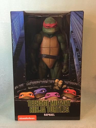 NECA - Teenage Mutant Ninja Turtles (1990 Movie) – 1/4 Scale Action Figure – RAPHAEL