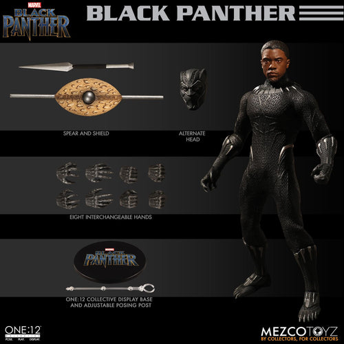 BLACK PANTHER  - ONE:12 Collective - MEZCO