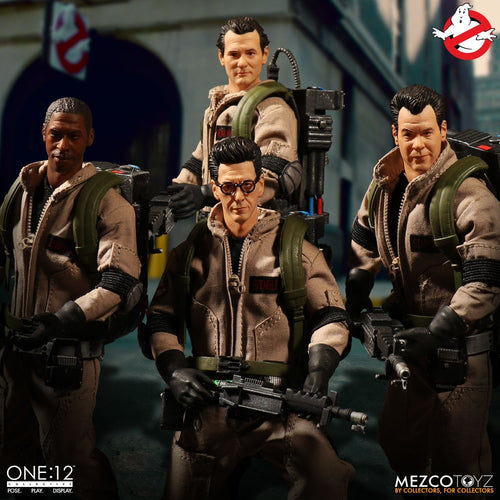 GHOSTBUSTERS - DELUXE Box Set - MEZCO