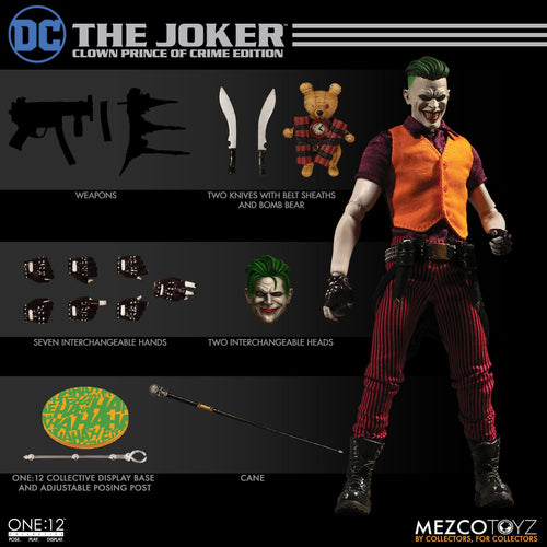 THE JOKER: Clown Prince Of Crime Edition - ONE:12 Collective - MEZCO