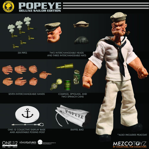 POPEYE - MDX - Exclusive - ONE:12 Collective - MEZCO