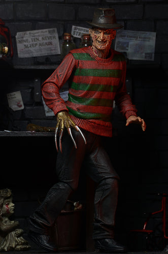Nightmare on Elm Street – 7″ Scale Action Figure – Ultimate Freddy - NECA