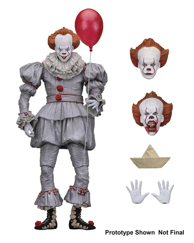 "IT – 7"" Scale Action Figure – Ultimate PENNYWISE (2017)  - NECA"