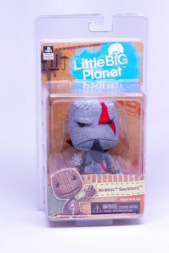 Little Big Planet – 7″ Scale Action Figure - KRATOS SACKBOY!