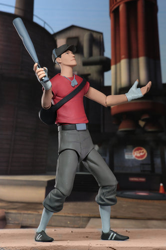 RED SCOUT - Team Fortress 2 – 7″ Scale Action Figure – Series 4 RED - NECA