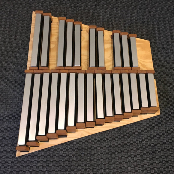 Marimbas & Xylophones Custom Freenotes 25-Note Chromatic Wing Set