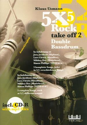 Media 5X5 Rock: Take Off 2   Book/CD Set
