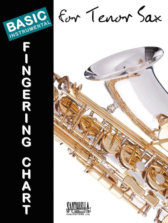 Media Basic Fingering Chart for Tenor Sax