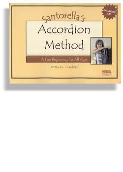Media Santorella's Accordion Method * Book 1A * with CD