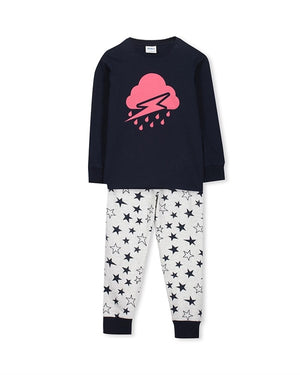 Milky Cloudy PJ's Sizes 3-7