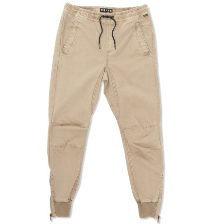 Indie Kids Cuffed Jogger Stone - Size 3 to 7
