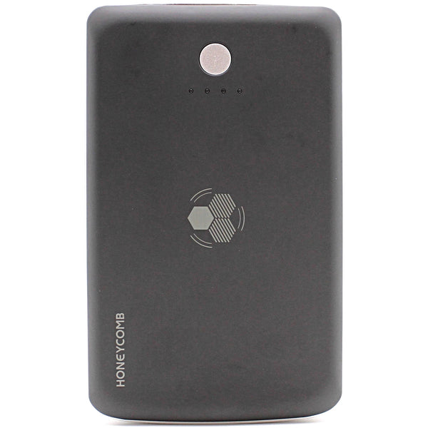 HONEYCOMB Wireless Portable Charger with 7500mAh Battery, Black