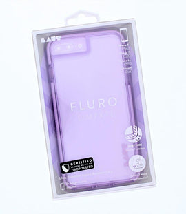 LAUT Apple iPhone 8 Plus/7 Plus/6s Plus/6 Plus Case Fluro - Lavender