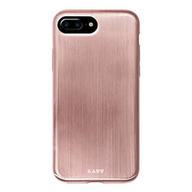 LAUT Apple iPhone 8 Plus/7 Plus/6s Plus/6 Plus Case Metallic - Rose Gold