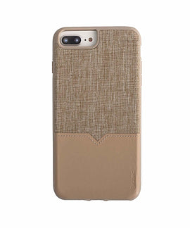 Evutec iPhone 8 Plus/7 Plus/6s Plus/6 Plus Case Northhill with AFIX Mount - Tan