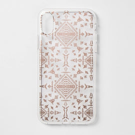 heyday  Apple iPhone X Printed Case - Rose Gold