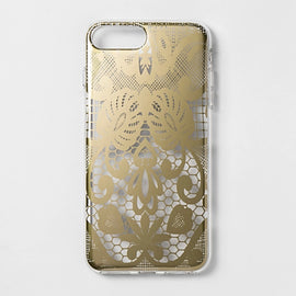 heyday  Apple iPhone 8 Plus/7 Plus/6s Plus/6 Plus Printed Lace Case - Gold