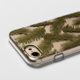 heyday  Apple iPhone X Printed Feathers Case - Gold