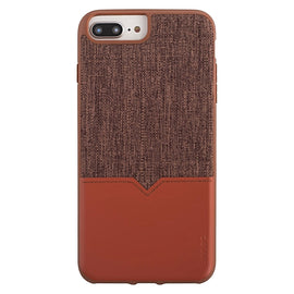 Evutec AFIX Mount Case for iPhone 8 Plus/7 Plus/6 Plus - Brown