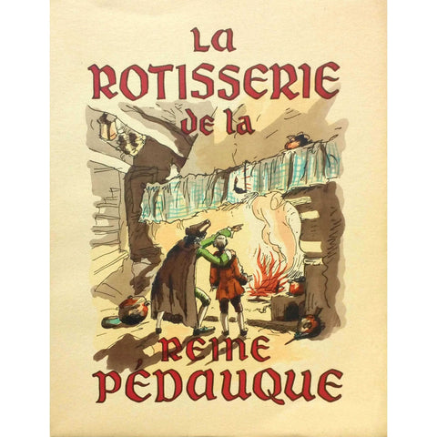 Erotica - Anatole France - La Rotisserie de la reine Pédauque. Limited illustrated edition