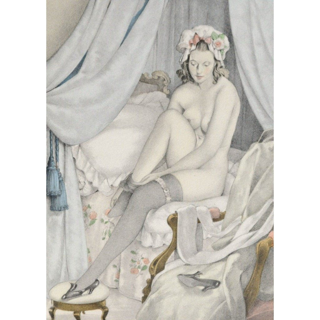 Erotica - Mémoires de Casanova. Limited edition illustrated by Brunelleschi