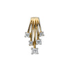 9ct Yellow Gold 0.25ct Diamond Drop Pendant TGC-DPD0329