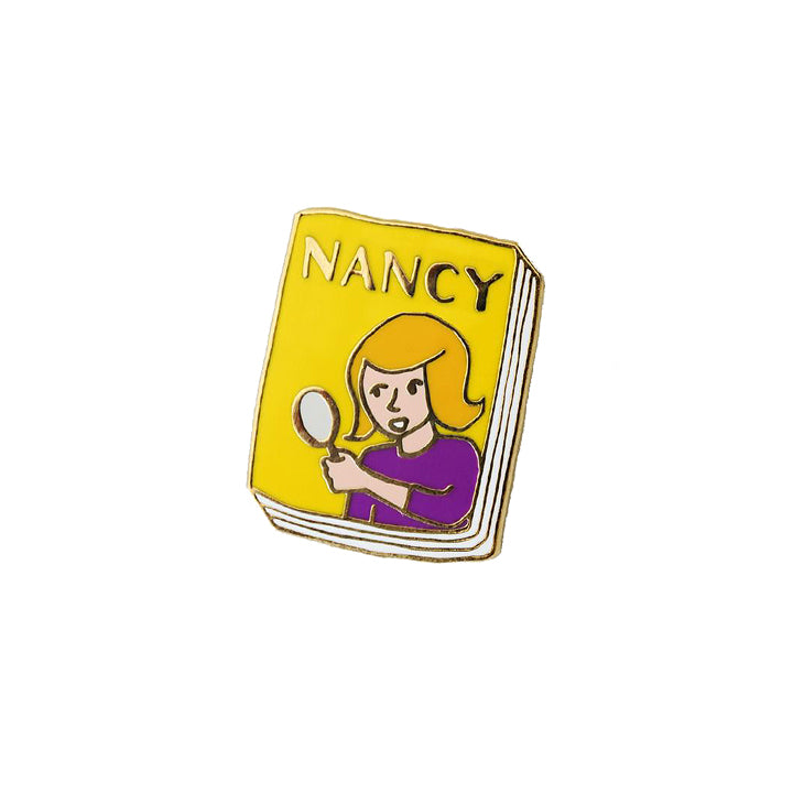 Book Pin - Nancy Drew