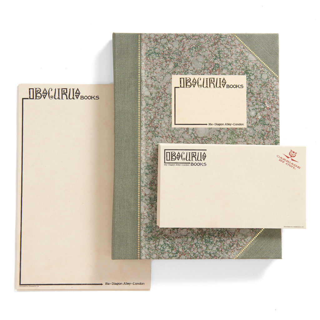 Obscurus Books Writing Set - Prop Replica